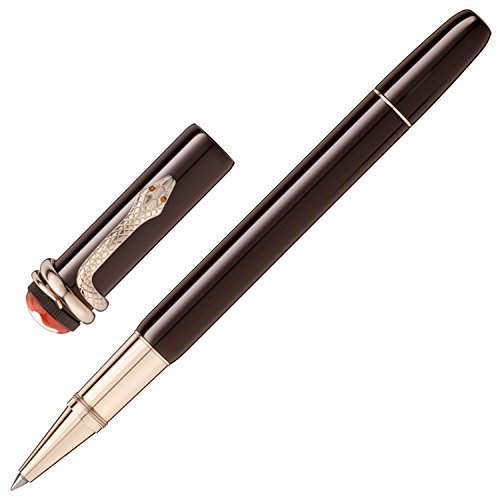 MONTBLANC ROLLER HERITAGE COLLECTION ROUGE & NOIR TROPIC BROWN SPECIAL EDITION 116552 (Noir Rouge)