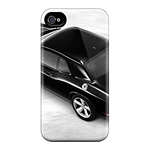 Hard Protect Phone Case For Iphone 4/4s (ahS9013fMjc) Allow Personal Design High-definition Dodge Challenger Pictures
