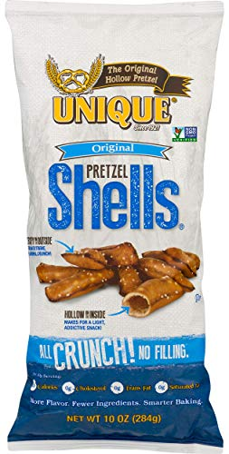 (Unique Pretzels, Original Pretzel Shells, 10 Ounce (Pack of 12))
