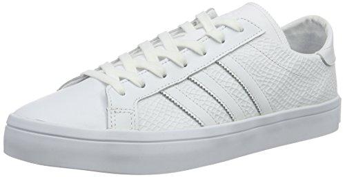 adidas Courtvantage W, Zapatillas De Baloncesto Para Unisex Adulto, Blanco (Ftwwht/Ftwwht/Cblack), 44 EU