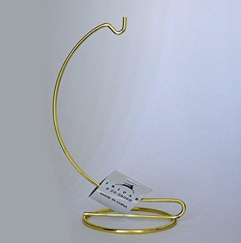 6 Inch Brass Ornament Stand - Tripar Base