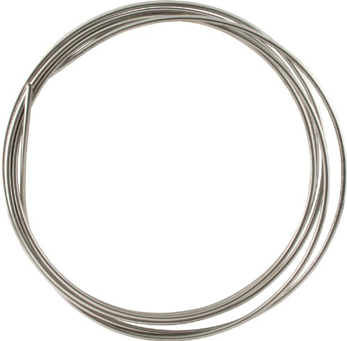 Allstar ALL48320 20' 5/16'' Diameter 304 Stainless Steel Coiled Tubing Fuel Line by Allstar
