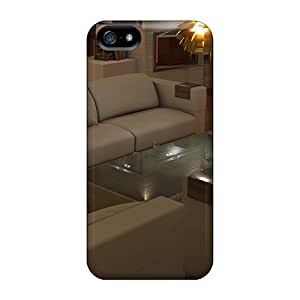 Awesome Architecture Interior Flip Case With Fashion Design For Iphone 5/5s