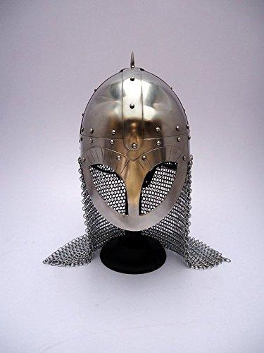 Steel Viking Norse Spectacle Helmet Armour Costume (Adult Viking Costumes)