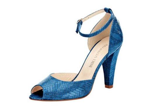 PATRIZIA DINI Damen-Schuhe Sandalette Blau