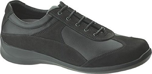 Aetrex Women's Essence Active Oxford,Black Leather,US 8.5 (Aetrex Black Oxford)