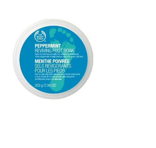 Body Shop Мята Возрождение ванны для ног, 7,06 унций