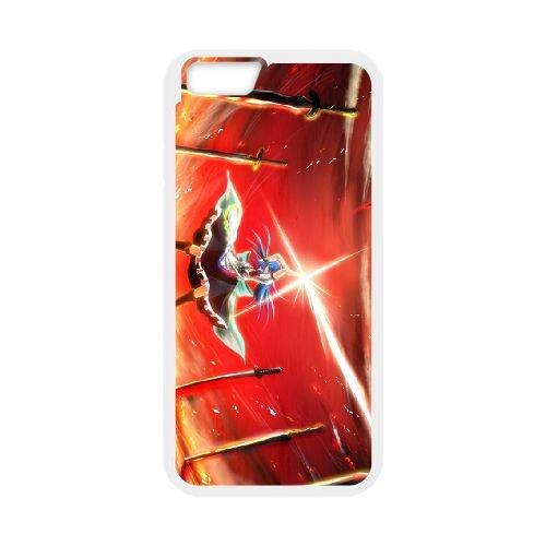 Sword Girls coque iPhone 6 4.7 Inch cellulaire cas coque de téléphone cas blanche couverture de téléphone portable EEECBCAAN08256