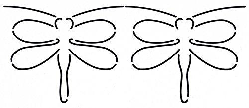 Quilting Creations Dragonfly Border Quilt Stencil (Quilt Border)