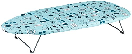 Beldray LA023735SEW Table Top Ironing Board, 76 x 33 cm, Sewing Print by Beldray