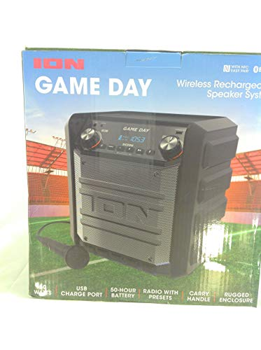 Ion Tailgater Express Game Day Bluetooth Speaker from Ion