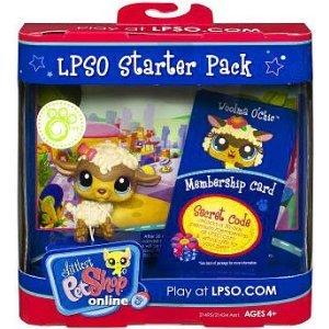 Littlest Pet Shop Online LPSO Web Game Starter Pack Woolma O Chic Sheep (Littlest Pet Shop Starter Pack)