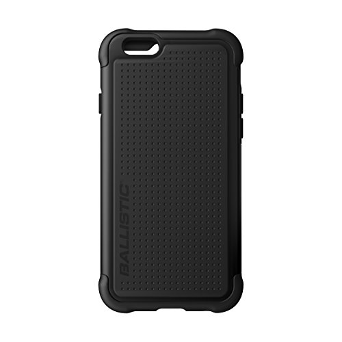 Ballistic iPhone 6 4.7-Inch Tough Jacket Case - Retail Packaging - Black