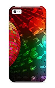 3d Abstract Desktop Case Compatible With Iphone 5c/ Hot Protection Case
