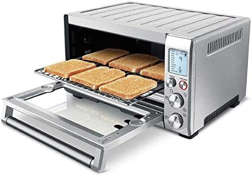 Breville Smart Oven Pro Renewed , 18.5 x 14.5 x 22.8 , Silver