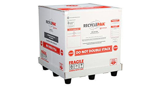 SUPPLY-261 CUBIC YARD MIXED LAMPS RECYCLING BOX by Veolia