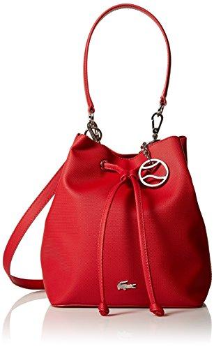 Lacoste Bucket Bag, Nf2535dc, Garnet by Lacoste