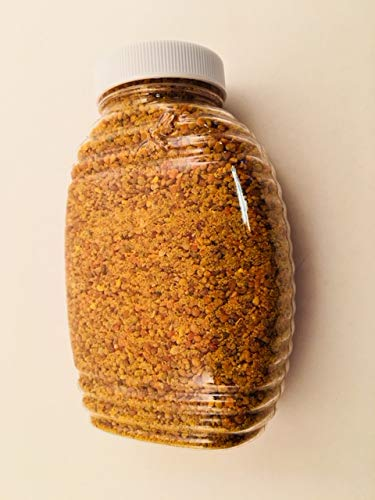 Hunter's Honey Farm Pure and Natural Pollen 6 oz. Indiana Pollen Granules Locally produced sustainable