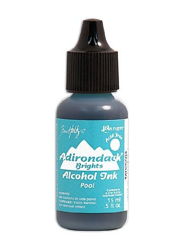Ranger Adirondack Alcohol Inks pool brights [PACK OF 6 ]