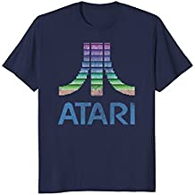 Atari 8 Bit Gradient Distressed Atari Logo