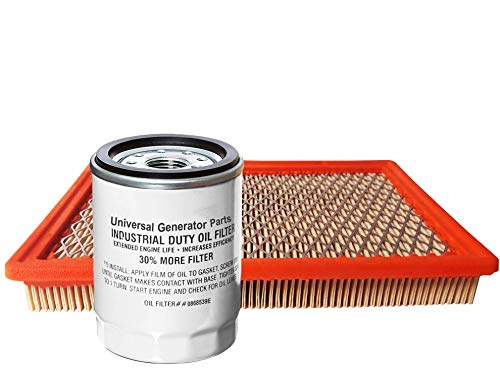 UGP Generac 0E9371A & Universal Generator Parts Replacement for 070185E and 070185ES (Filter with Oil)