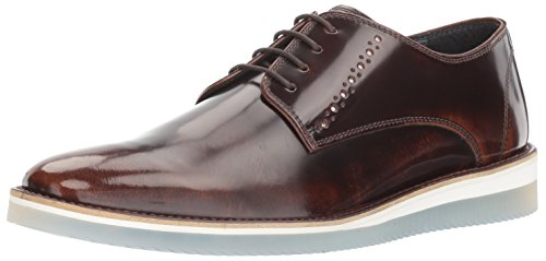 Steve Madden Mens Intern Oxford Brown Leather