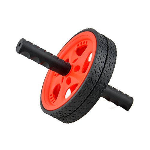 MaxxMMA Dual Ab Wheel – Fitness Roller Abdominal Exercise Equipment