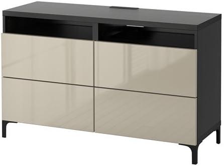 Ikea 8204.8148.3434 - Mueble de TV con cajones, color negro y marrón: Amazon.es: Juguetes y juegos