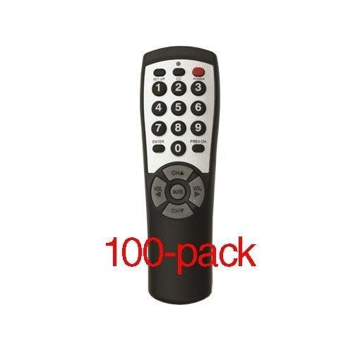 100-pack Brightstar BR100B Universal TV Remote