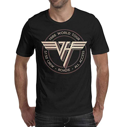 - Men's Rock Music Group Series Casual Short Sleeve t Shirts Crew Neck fit Top