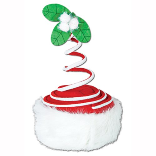 (Springy Mistletoe Hat Party Accessory (1 count))