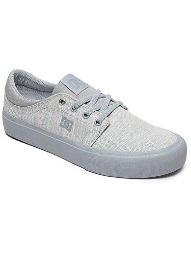 DC Shoes Trase TX SE - Zapatillas bajas para mujer Light Grey