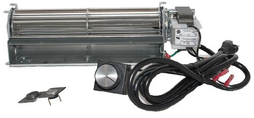 Fireplace Blower for Heatilator, Majestic FK4, GFK4, Northern Flame/Top Vent Direct; Rotom Replaceme by Fireplace Blowers N Motor Source