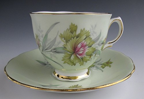 Ridgway Pottery/Cloclough China 8252 Cup & Saucer Set EXCELLENT