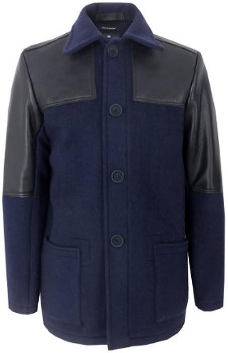 6f558ce6b56e Nigel Cabourn Donkey Navy Jacket L  Amazon.co.uk  Clothing