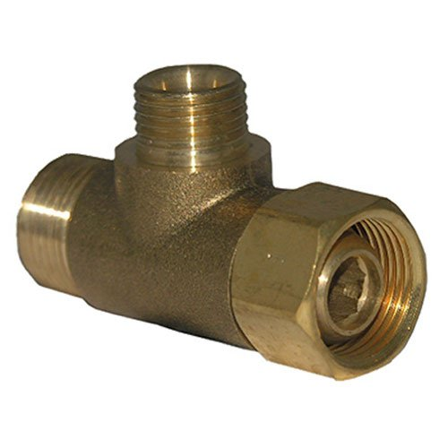 - LASCO 06-9101 Angle Stop Add-A-Tee Valve, 3/8-Inch Compression Inlet X 3/8-Inch Compression Outlet X 1/4-Inch Compression Outlet, Brass