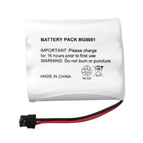 Fenzer Rechargeable Cordless Phone Battery for Panasonic PQP60AAF3G2 PQP60AAF3G2 Cordless Telephone Battery Replacement Pack