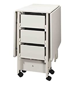 Amazon.com: Fashion Sewing Cabinets Cutting Craft Utility Table ...