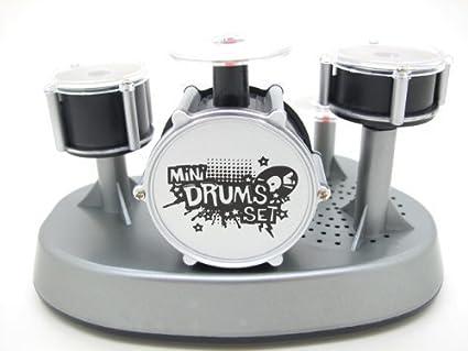 Amazoncom Mini Finger Drum Set Novelty Desk Musical Toy Toys Games