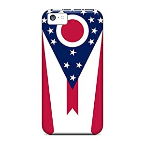 Unique Design Iphone 5c Durable Tpu Case Cover Ohio by lolosakes