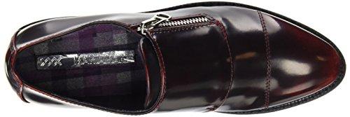 Mariamare 61266 - Zapatos con cremallera para mujer Borgoña (Floren Burgundy)