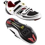 Mavic 2014/15 Men's Tri Race Triathlon Cycling Shoe (White – 13.5)