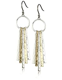 Lucky Brand Womens Metal Paddle Earring