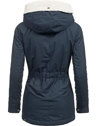 Cappuccio Giacca Donna Con Monica Ragwear Xs Colori 3 Invernale Blau018 Da xl qS5YC