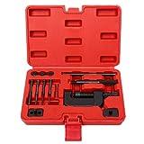 Chain Cutter Breaker Riveting Rivet Tool Kit W/Case for Motorcycle ATV OHV Cam Drive