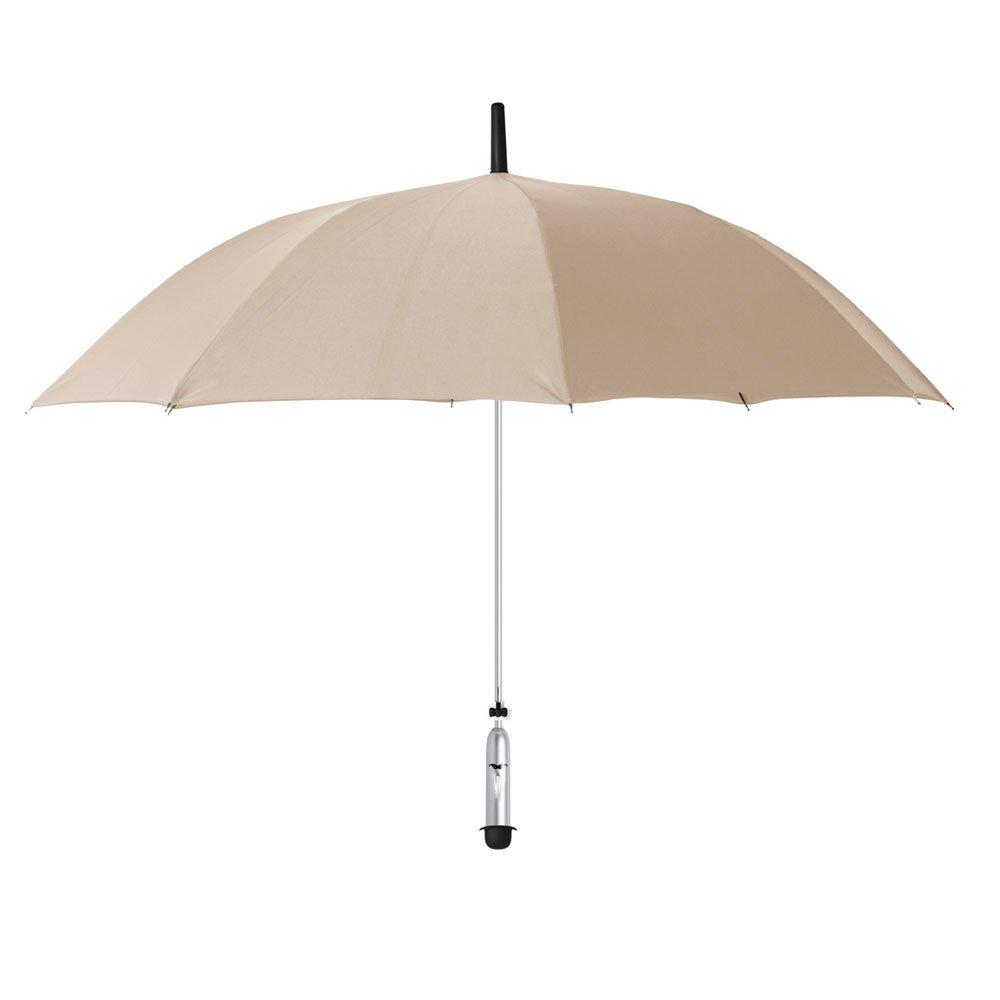 OPUS ONE(オーパスワン) 新しい天気情報を提供するスマート傘 JONAS Ivory クリームベージュ OP005 B01J9YMPVY ベージュ ベージュ