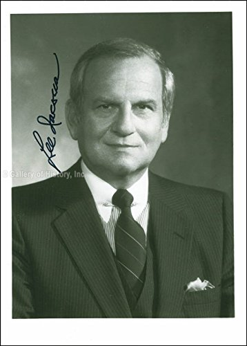 Lee Iacocca Photograph Signed