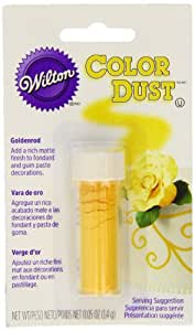 Wilton 703-108 Goldenrod Color Dust, Yellow