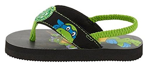Picture of Tennage Mutant Ninja Turtles Toddler Boys Beach Flip Flop (11-12)