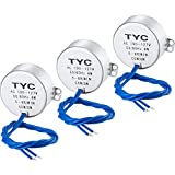 SATINIOR Electric Synchron Motor Turntable Synchronous Motor 100-127 Vac 50/60 Hz 4W 5-6 RPM/MIN CCW/CW Direction for Hand-Made, School Project, Model or Guide Motor (3 Pack)